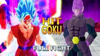 getlinkyoutube.com-Goku vs Hit | Full Fight | Goku God Kaioken | DBZ Tenkaichi 3 (MOD)