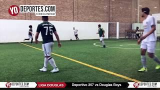 Deportivo 357 vs. Douglas Boys Liga Douglas
