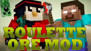 getlinkyoutube.com-Minecraft ROULETTE ORES MOD (Troll Blocks, Herobrine, Explosions) - Mod Showcase