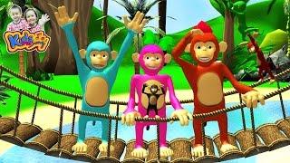 getlinkyoutube.com-เพลงลิง  เจี๊ยก เพลงเด็กอนุบาล - Monkey song for children By KidsMeSong