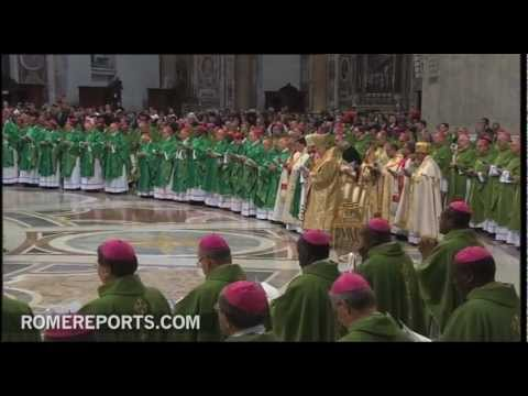 Pope closes the Synod on the New Evangelization
