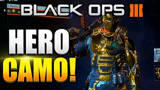 "getlinkyoutube.com-Black Ops 3 - All Specialist ""HERO"" Armour GAMEPLAY! GOLD HERO CAMO - (BO3 GOLD CAMO)"