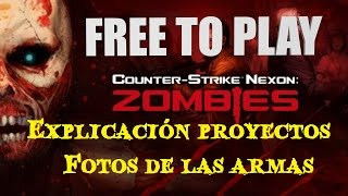 getlinkyoutube.com-Counter-Strike Nexon: Zombies Conseguir Armas y Fotos Español