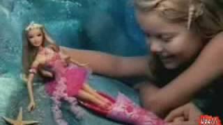 getlinkyoutube.com-2006 º Barbie Fairytopia Mermaidia fairy-to-mermaid doll commercial