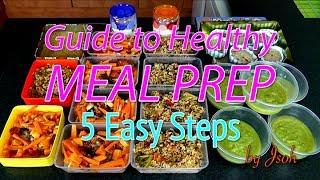 getlinkyoutube.com-Best Guide to Healthy Meal Prep: 5 Easy Steps