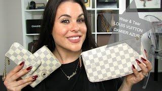 getlinkyoutube.com-Wear + Tear on Louis Vuitton Damier Azur