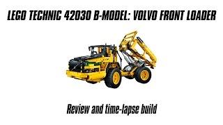 getlinkyoutube.com-Lego Technic 42030 B-model Build & Review: Volvo Articulated Hauler