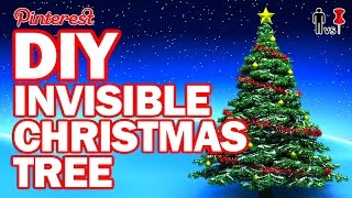getlinkyoutube.com-DIY Invisible Christmas Tree - Man Vs Pin #103