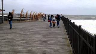 getlinkyoutube.com-Hurricane Sandy @ Seaside Park, NJ Before Evacuati