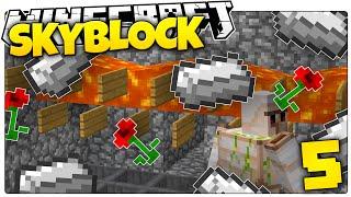 getlinkyoutube.com-Minecraft | MOB GRINDER MILLIONAIRE! | Skyblock Survival [5]