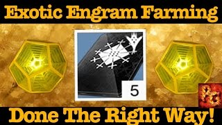 Destiny: How To Farm Exotic Engrams Without Wasting So Many Three of Coins!