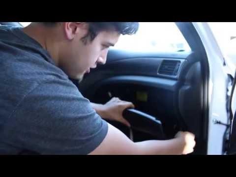 How to replace Cabin Air Filter on 2011 Subaru WRX STi