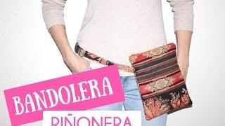 getlinkyoutube.com-TUTORIAL COMO HACER UN BOLSO BANDOLERA/RIÑONERA (PATRONES GRATIS)