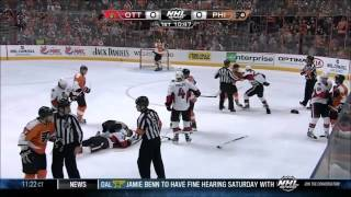 getlinkyoutube.com-NHL Best Hits and Fights 2012 2013