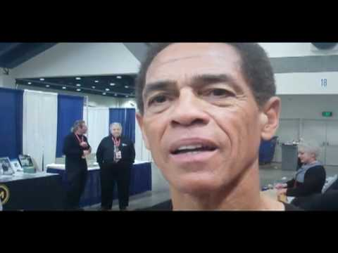 Jim Kelly, From Enter The Dragon, WonderCon 2011, Talks President Obama And Jon Saxon