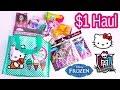 Hello Kitty Bag Disney Frozen Crashlings Blind Bag $1 Dollar Tree Toy Doll Dough Monster High Video