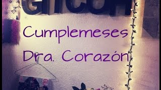 getlinkyoutube.com-Ideas para Regalo de Cumple Meses / Dra Corazon + Saludos :)