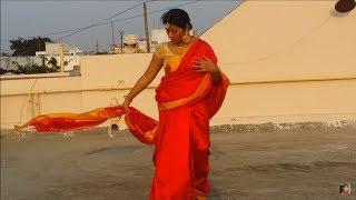 How to tie SIVAGAMI saree in bāhubalí with Nauvari saree