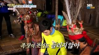 getlinkyoutube.com-SBS [정법/Law Of The Jungle] - 승리욕의 끝장, 하준 vs 동준