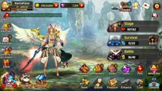 getlinkyoutube.com-Kritika: White Knight | Update 2.28 | Mao Training | Mao Daily's | Mao Karats |