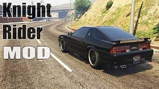 Grand Theft Auto V - Knight Rider: K.I.T.T [MOD] GTAV