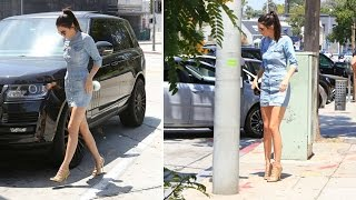 Kendall Jenner Takes Her Long Legs To Lunch