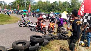 getlinkyoutube.com-Kecelakaan road race sawah lunto 17 januari 2016