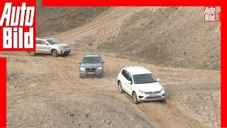 getlinkyoutube.com-BMW X5 vs. VW Touareg und Jeep Grand Cherokee (2015)