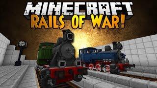 getlinkyoutube.com-Minecraft Mod Showcase: RAILS OF WAR!
