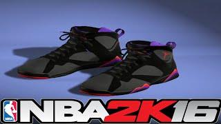 getlinkyoutube.com-NBA 2K16 Shoe Creator - Jordan 7 Defining Moments