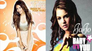 getlinkyoutube.com-Victoria Justice FT Jojo (Mashup) Beggin' On Your Knees vs Baby It's You HD