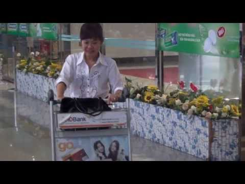 Ms Tram at the aiport TSN-VN on May 2,2013 ( Part 3 )