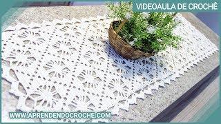 getlinkyoutube.com-Caminho de Mesa em Croche Aranha - Aprendendo Crochê