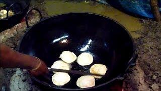Biye Barir Radhaballavi - Special Spicy Stuffed Fried Bread