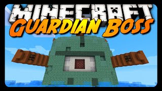 getlinkyoutube.com-Minecraft: EPIC GUARDIAN BOSS FIGHT! (Downloadable Mini-Game)