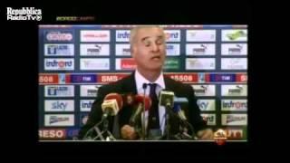Ranieri show: ''I romanisti stanno a gode' come i ricci''