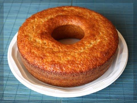 Bizcocho De Yogur ( Recetas facil gelatina,pudin,postes )