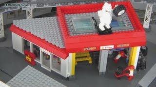 getlinkyoutube.com-LEGO custom auto repair shop MOC!