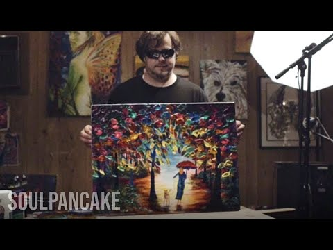 Artist PAINTS Without SIGHT | The Happiness Stories