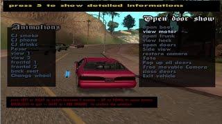 مود تطوير السيارات  و اضافة التاتيرات عليها للعبة GTA SAN