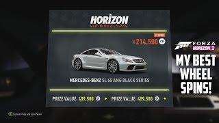 getlinkyoutube.com-Forza Horizon 2 - My Best Wheel Spins!!!