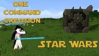 getlinkyoutube.com-STAR WARS: One Command Block Creation: Minecraft