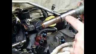 getlinkyoutube.com-Removing Isuzu 4JX1 Diesel Injector Sleeves