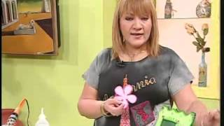 getlinkyoutube.com-Aprender con Rossana TV: Portaretratos en foami