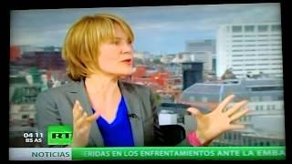 Asi se ve a Honduras por las Ciudades Modelos en el mundo...RT (Television Rusa).