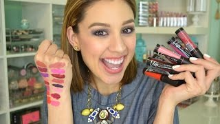 getlinkyoutube.com-LA Girl Matte Pigment Gloss | Swatches