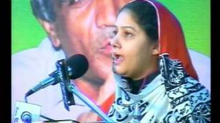 getlinkyoutube.com-Hina Nasrulla (PTV) Seminar Hazrat Wasif Ali Wasif (R.A) (GRW) 16-01-2011