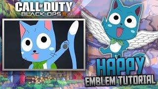 getlinkyoutube.com-Black Ops 3: Happy the Cat | Anime Emblem Tutorial (Fairy Tail)