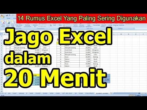 Cara Belajar Rumus Excel Biar Cepat Mengerti