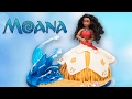 Moana Doll Cake w Isomalt Sugar Waves  Disney Cake Tutorial from Cookies Cupcakes and Cardio